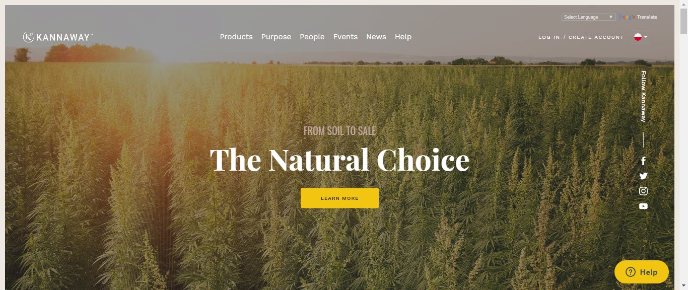 Kannaway CBD Oil - home page