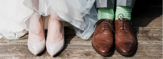 Online Wedding Website - wedding shoes