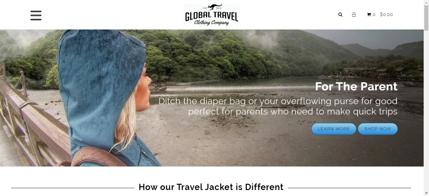 Travel Accessories Affiliate Programs - Global Travel Clothing Company