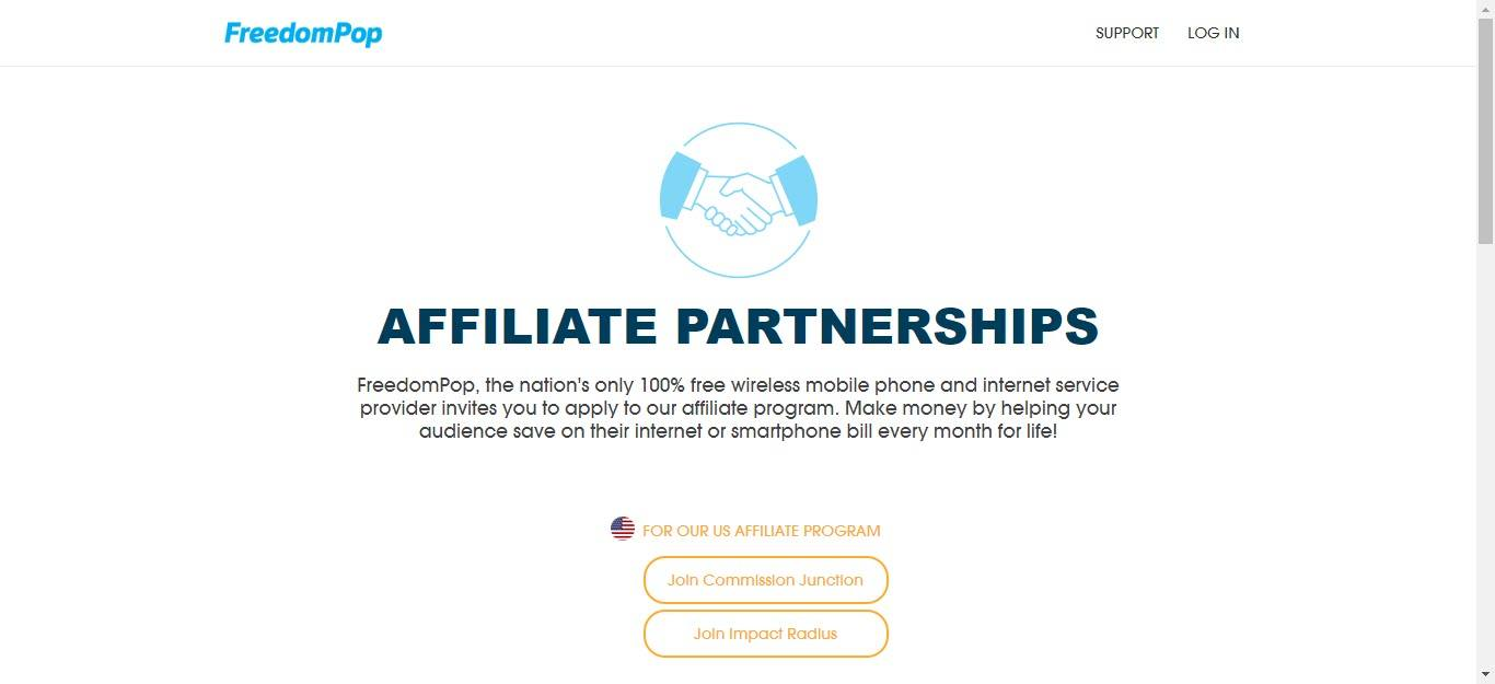 10 Cell Phone Affiliate Programs - Freedompop affiliate