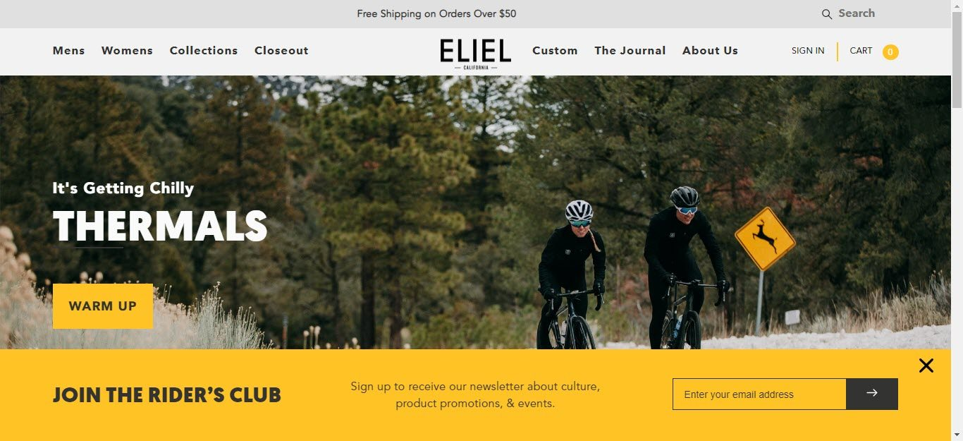 Bicycle Affiliate Program - Eliel