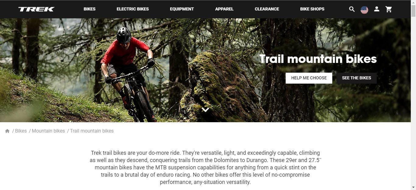 Bicycle Affiliate Program - Trek
