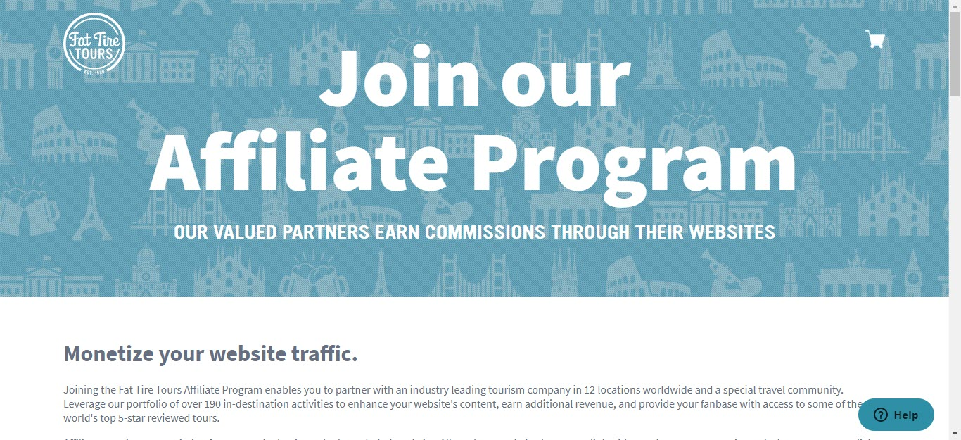 Bicycle Affiliate Program - fattiretours affiliate