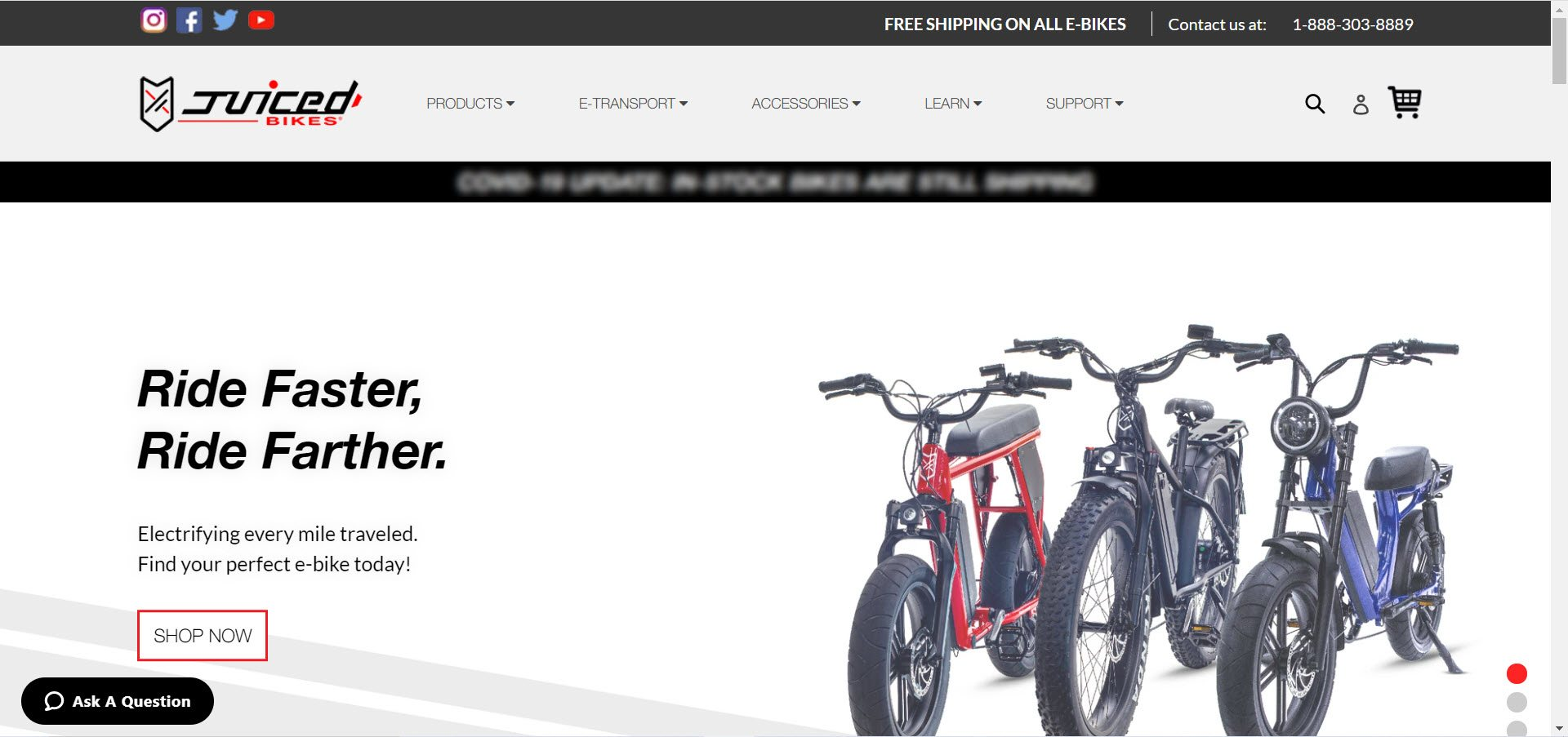 Bicycle Affiliate Program - juiced bikes