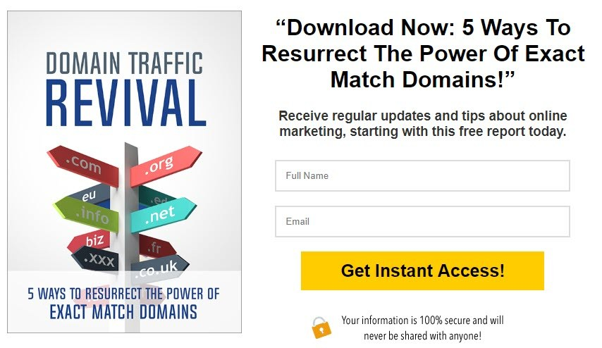 Domain Traffic Revival - clean exit template