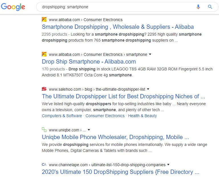 How to Sell Smartphones Online - smartphone dropshipping