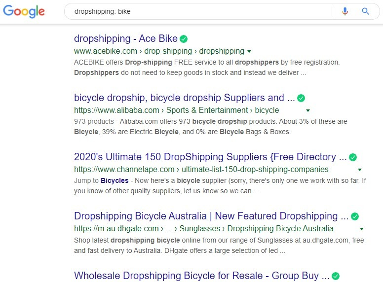 How to sell bikes online - drop shipping bike