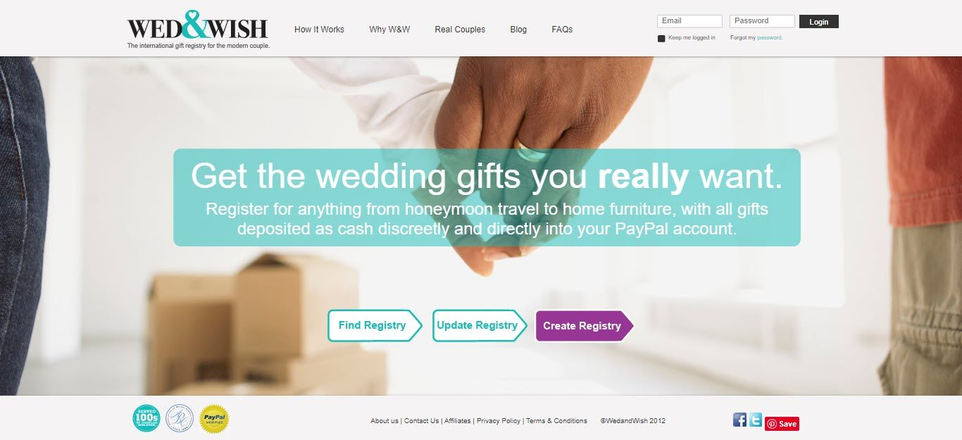 Wedding Affiliate Program - Wed and Wish