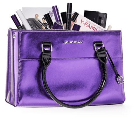younique MLM review - products bag
