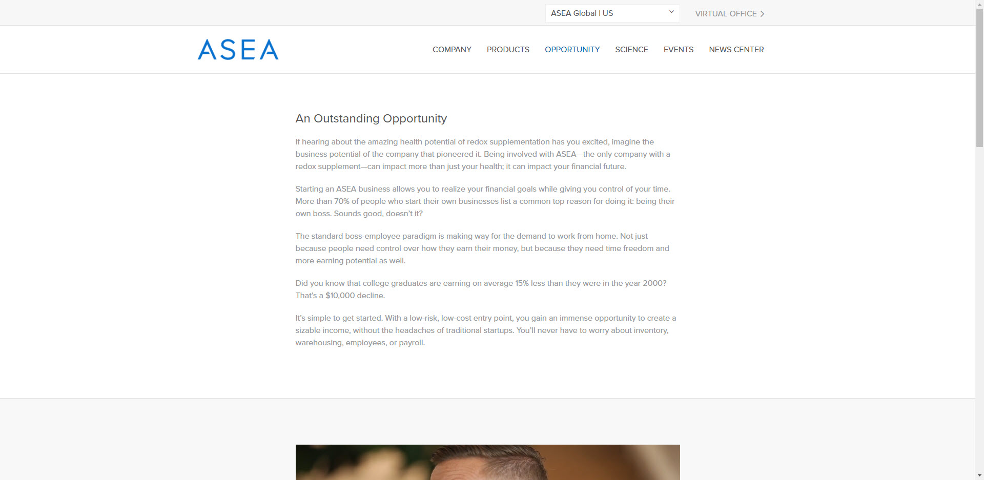 Asea MLM Review - Opportunity