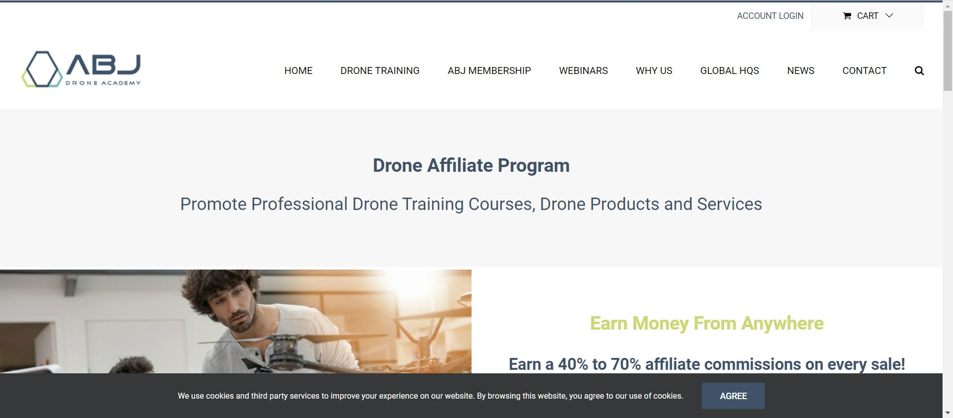 Drone Affiliate Programs - ABJ Drone affiliate
