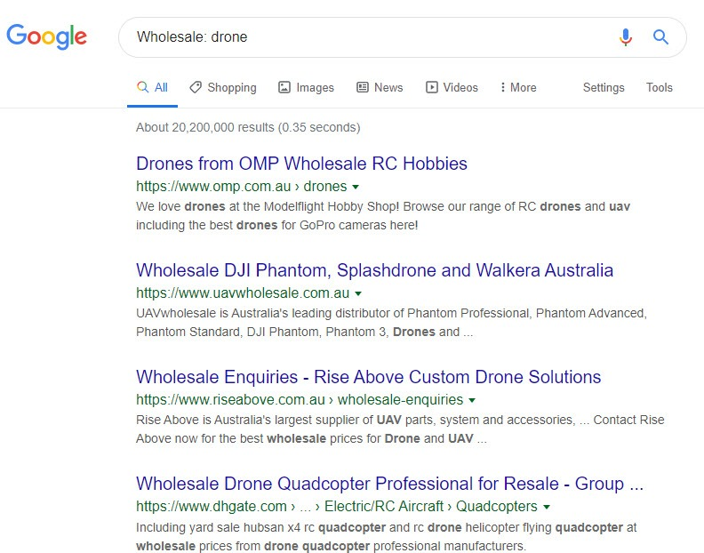 How to Sell Drones Online - drone wholesale