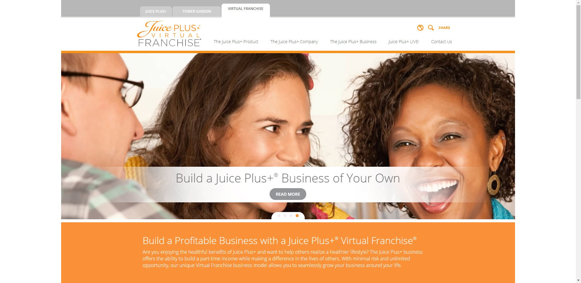 Juice Plus MLM Review - Opportunity
