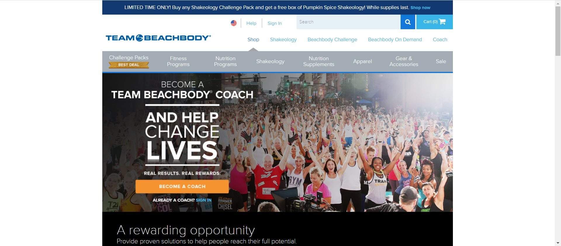 beachbody MLM review - Opportunity