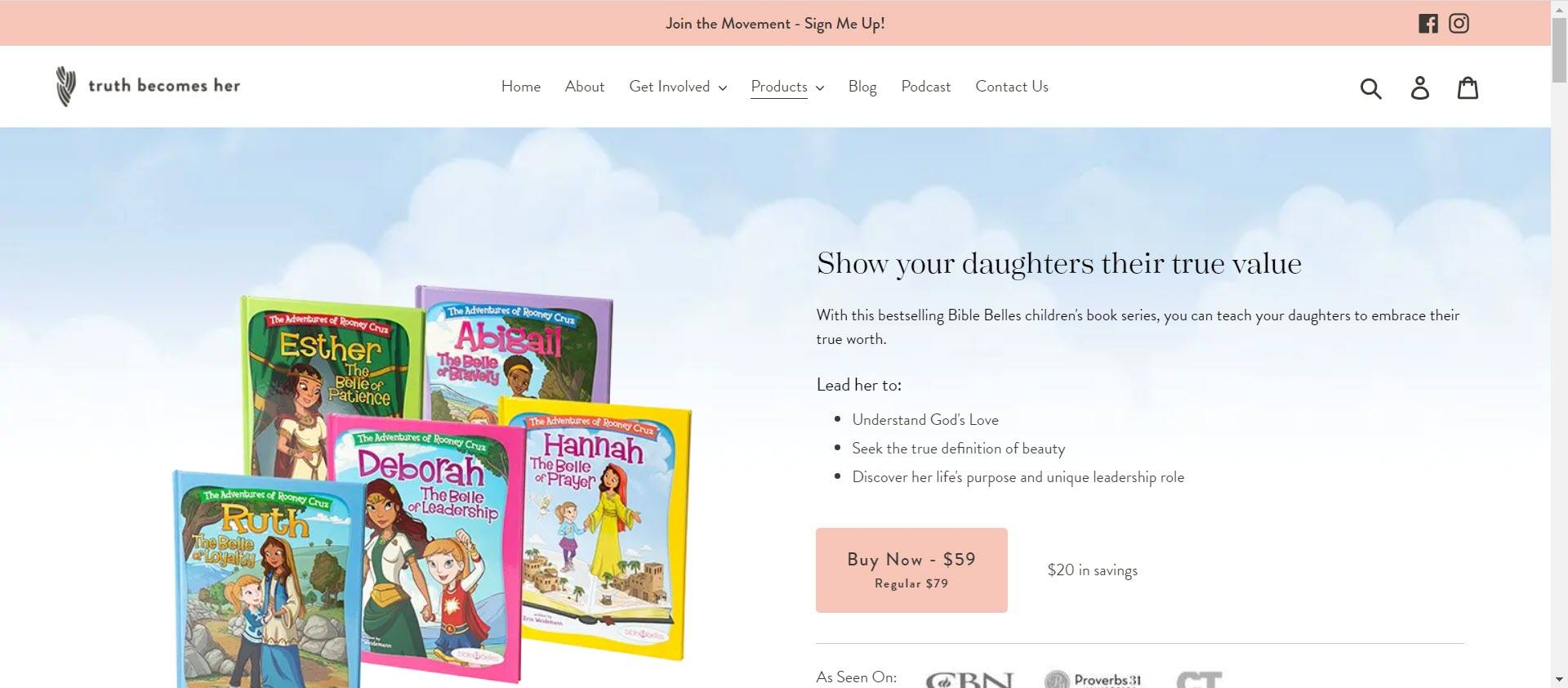 best christian affiliate programs - Bible Belles Home1