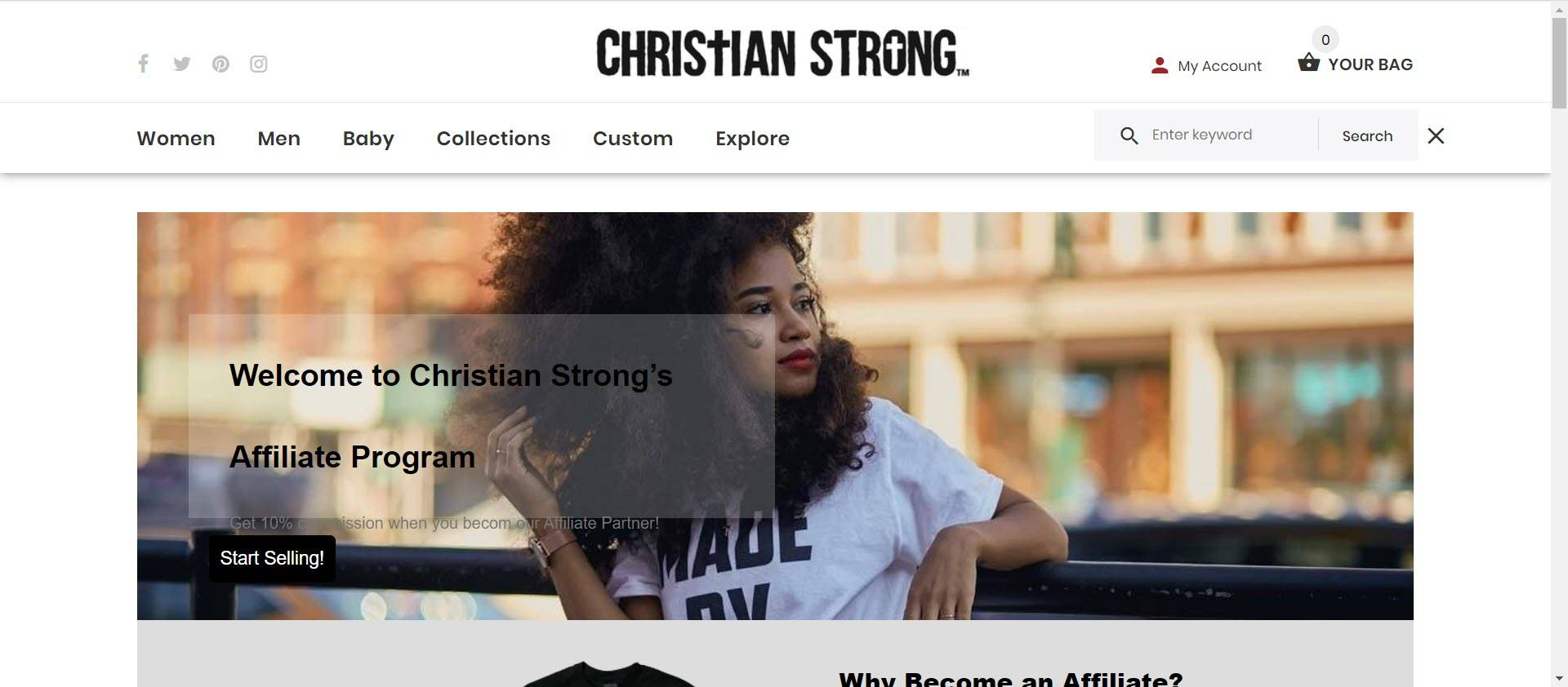 best christian affiliate programs - Christian Strong Affiliate