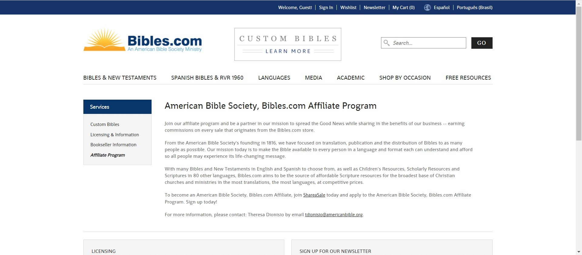 best christian affiliate programs - biblesdotcom affiliate