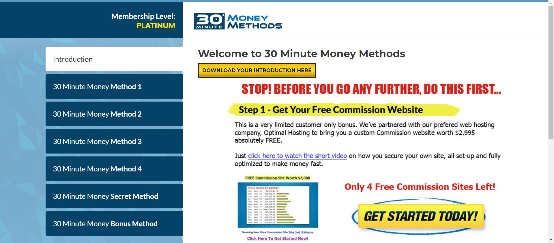 what is 30 minute money methods - home