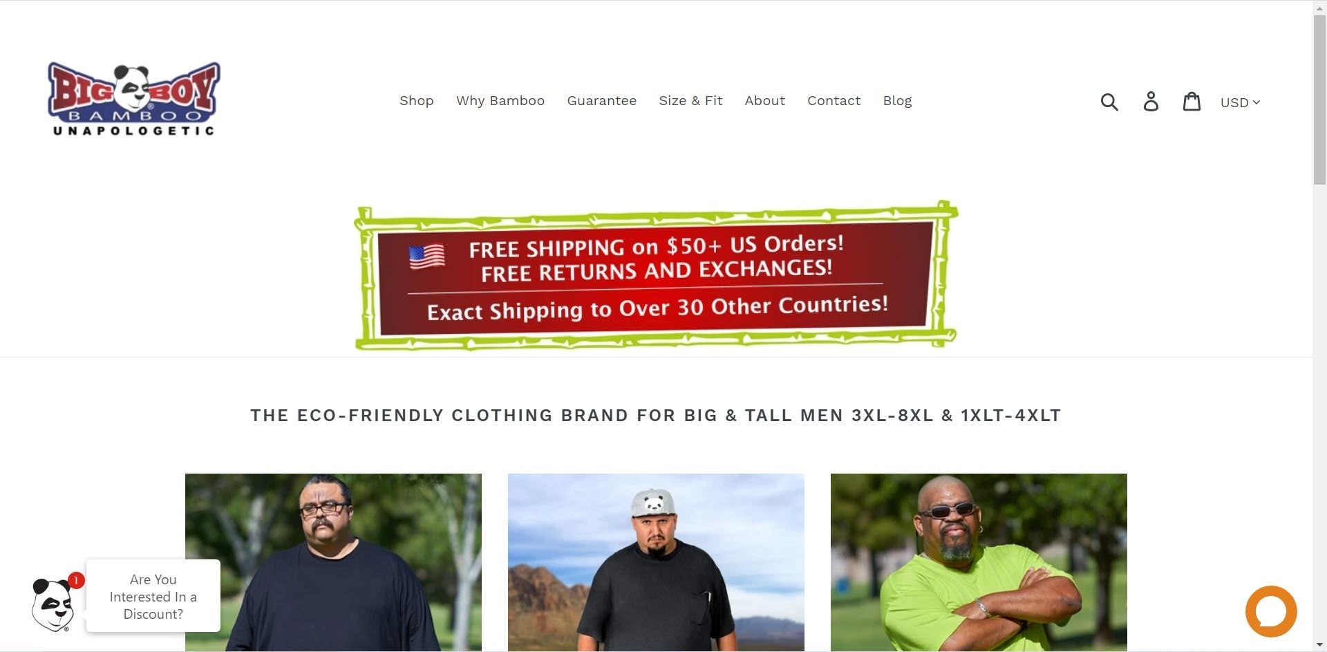 Plus Size Affiliate Programs - Big Boy Bamboo