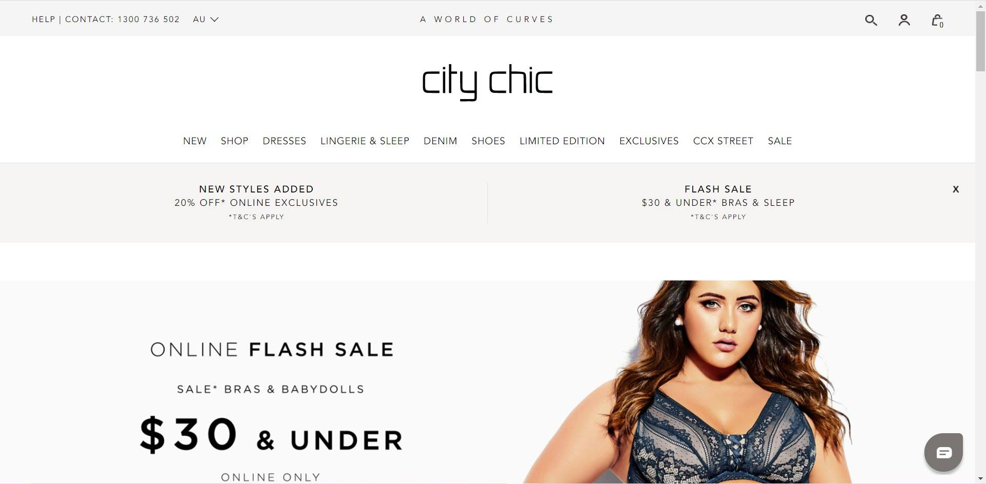 Plus Size Affiliate Programs - City Chic