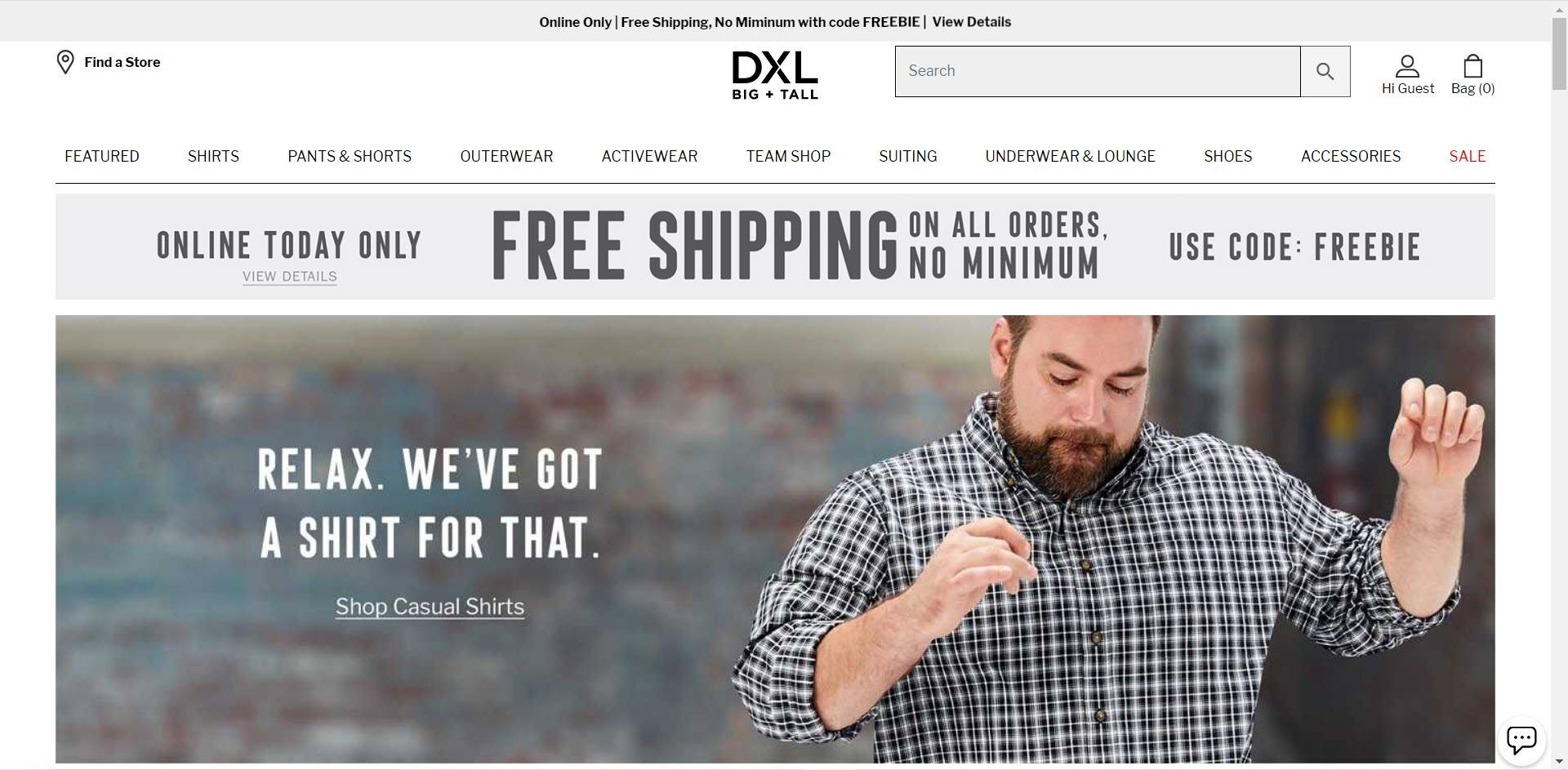 Plus Size Affiliate Programs - Destination XL