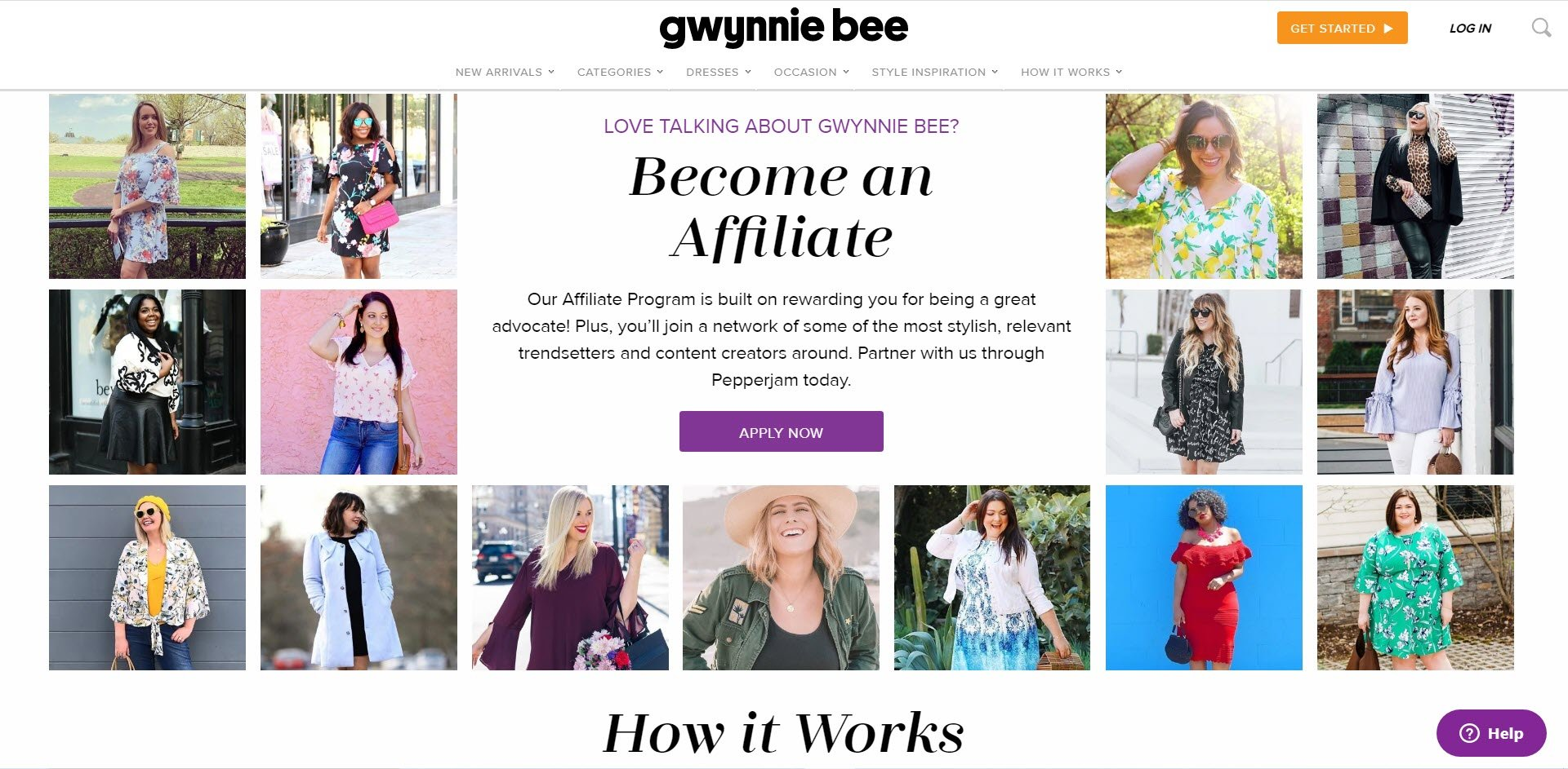 Plus Size Affiliate Programs - Gwynnie Bee Affiliate