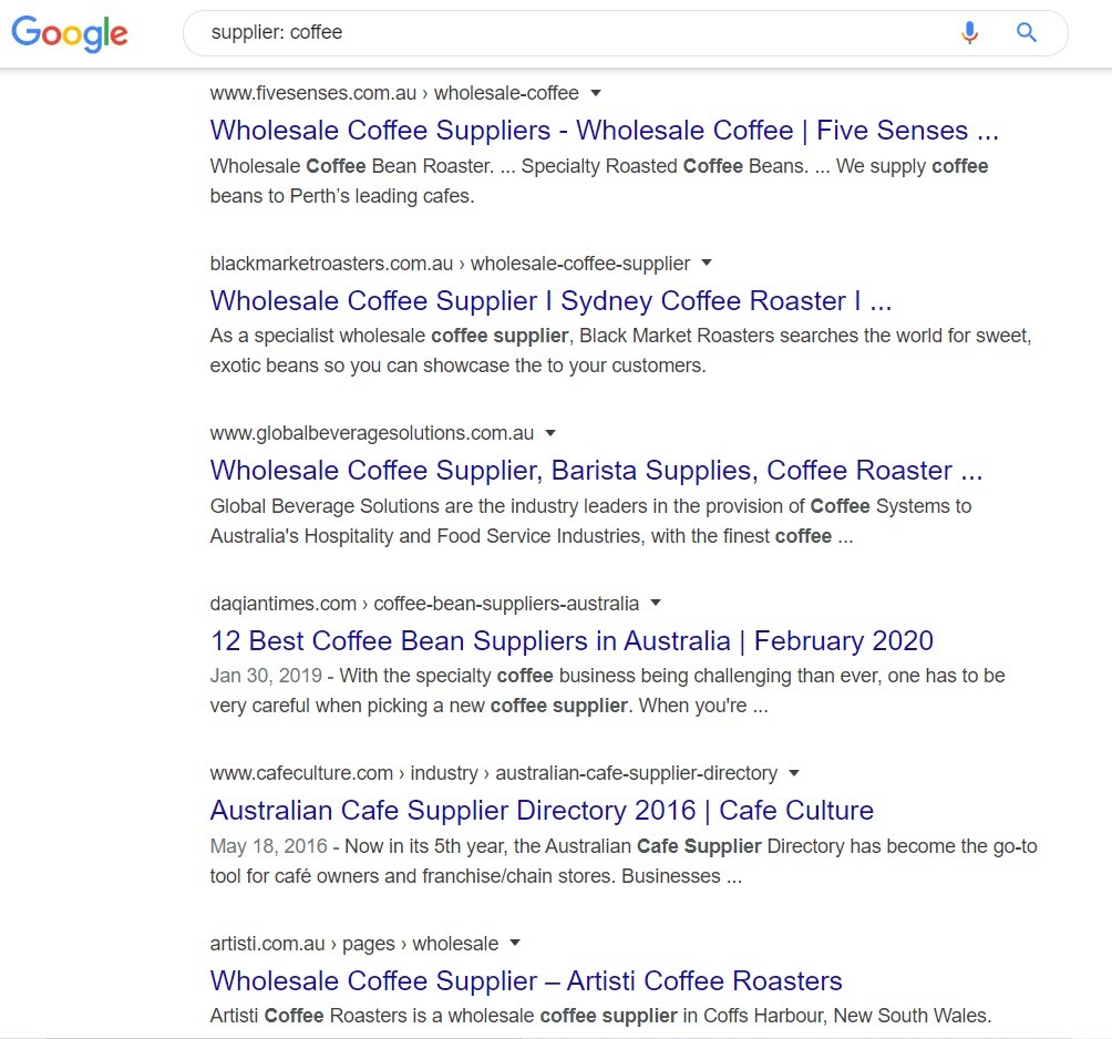 Sell Coffee Online - coffee suppliers