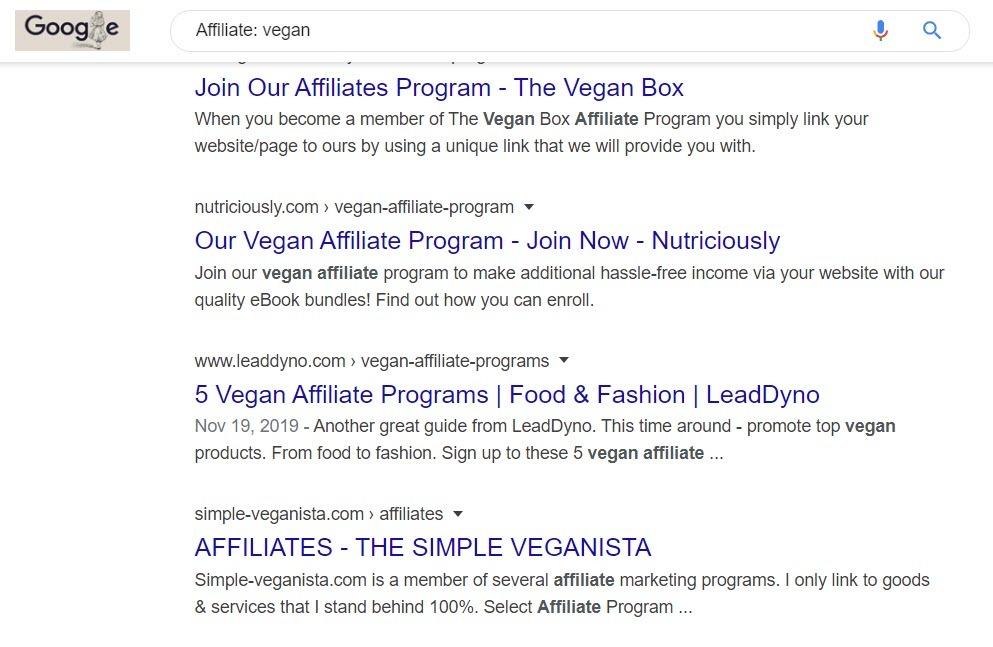 Vegan Products Online - vegan affiliate
