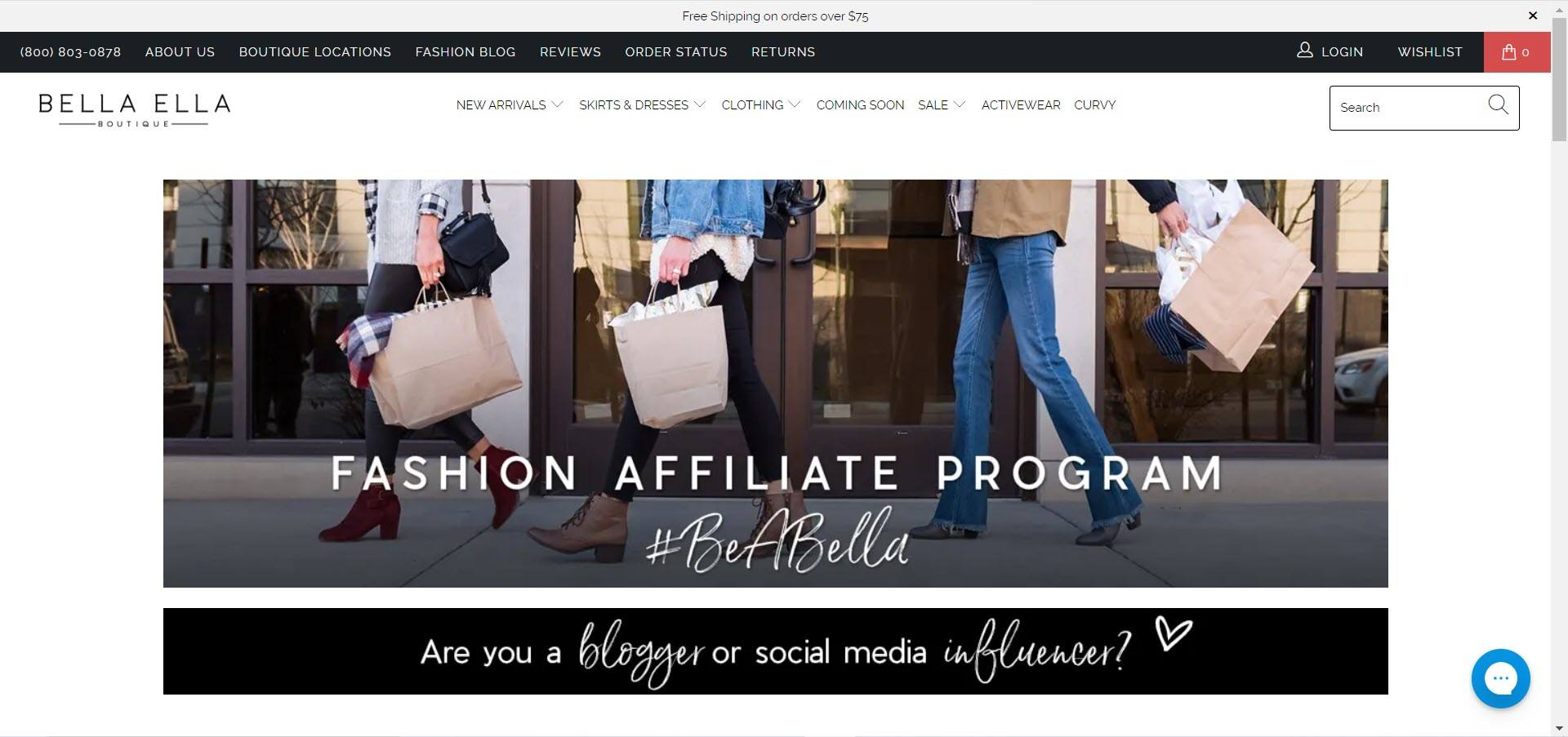 Women's Fashion Affiliate Programs - Bella Ella Affiliate