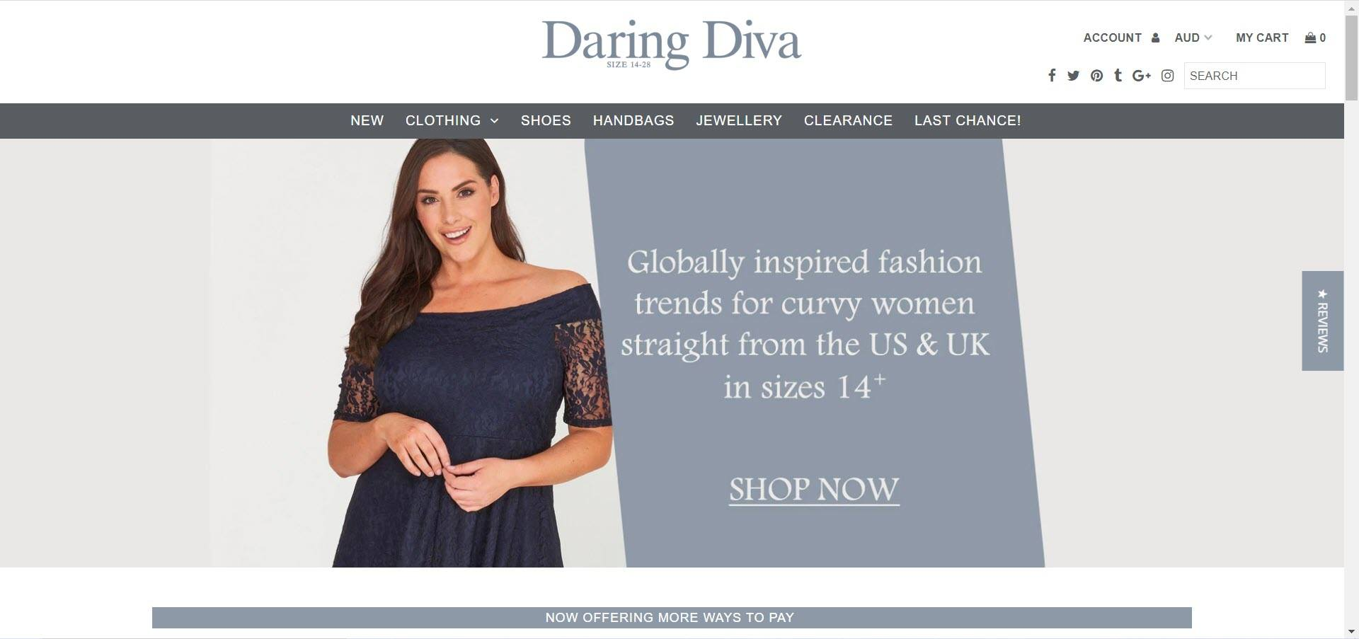 Women's Fashion Affiliate Programs - Daring Diva