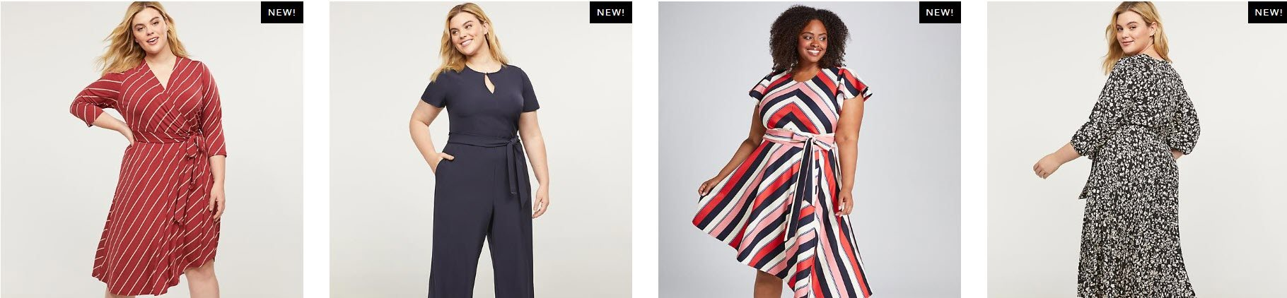 Women's Fashion Affiliate Programs - lane bryant stripe