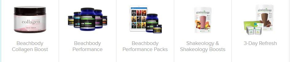beachbody MLM review - Supplement products