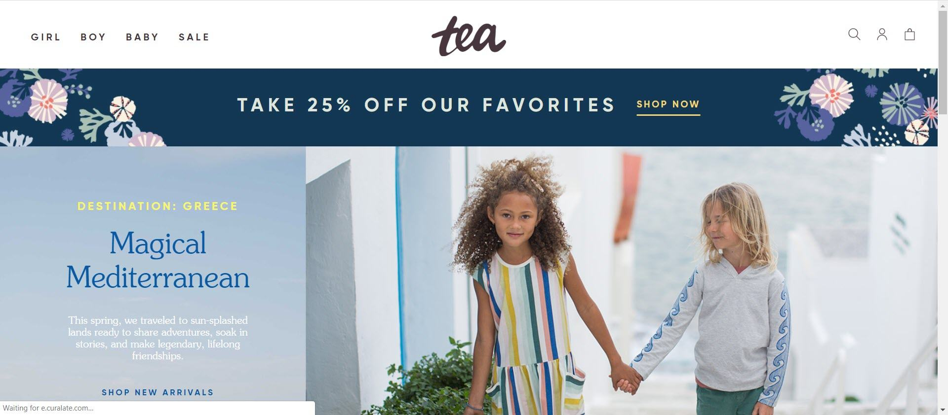 clothing affiliate marketing programs - Tea Collection