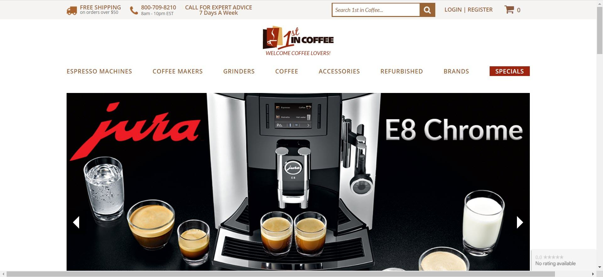 coffee affiliate programs - 1st in Coffee
