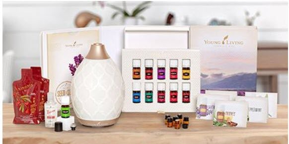 doterra vs young living - YL starter kits