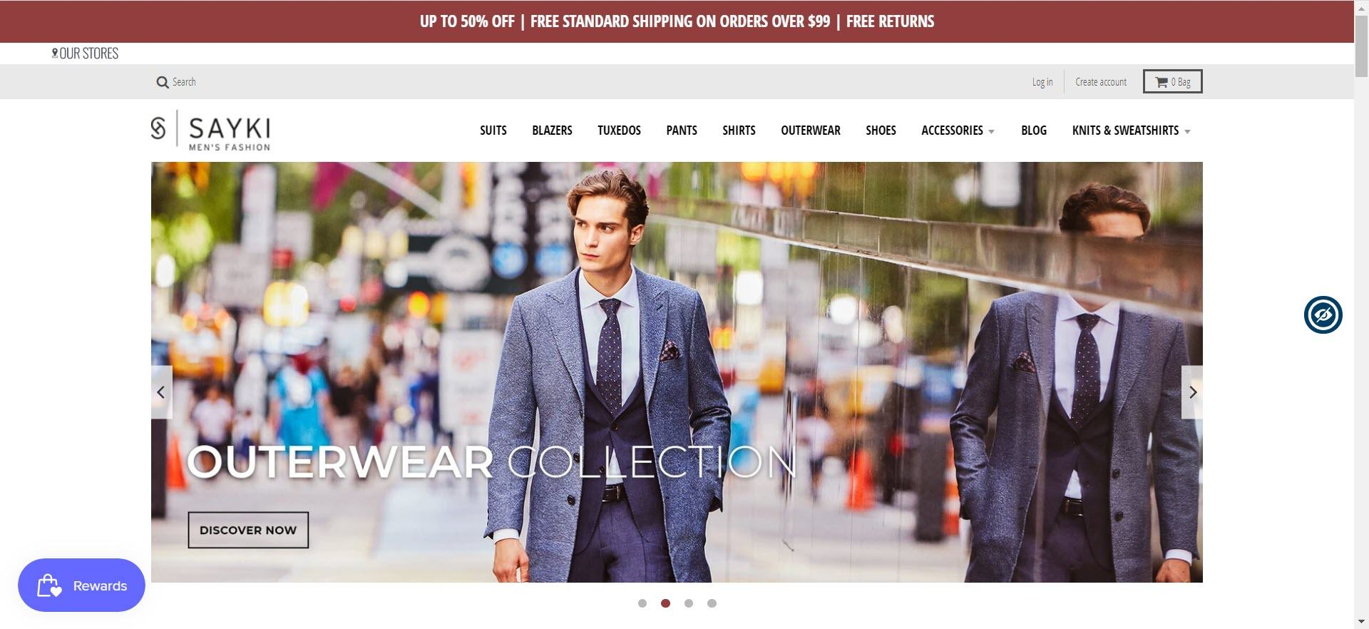 mens clothing affiliate programs - Sayki