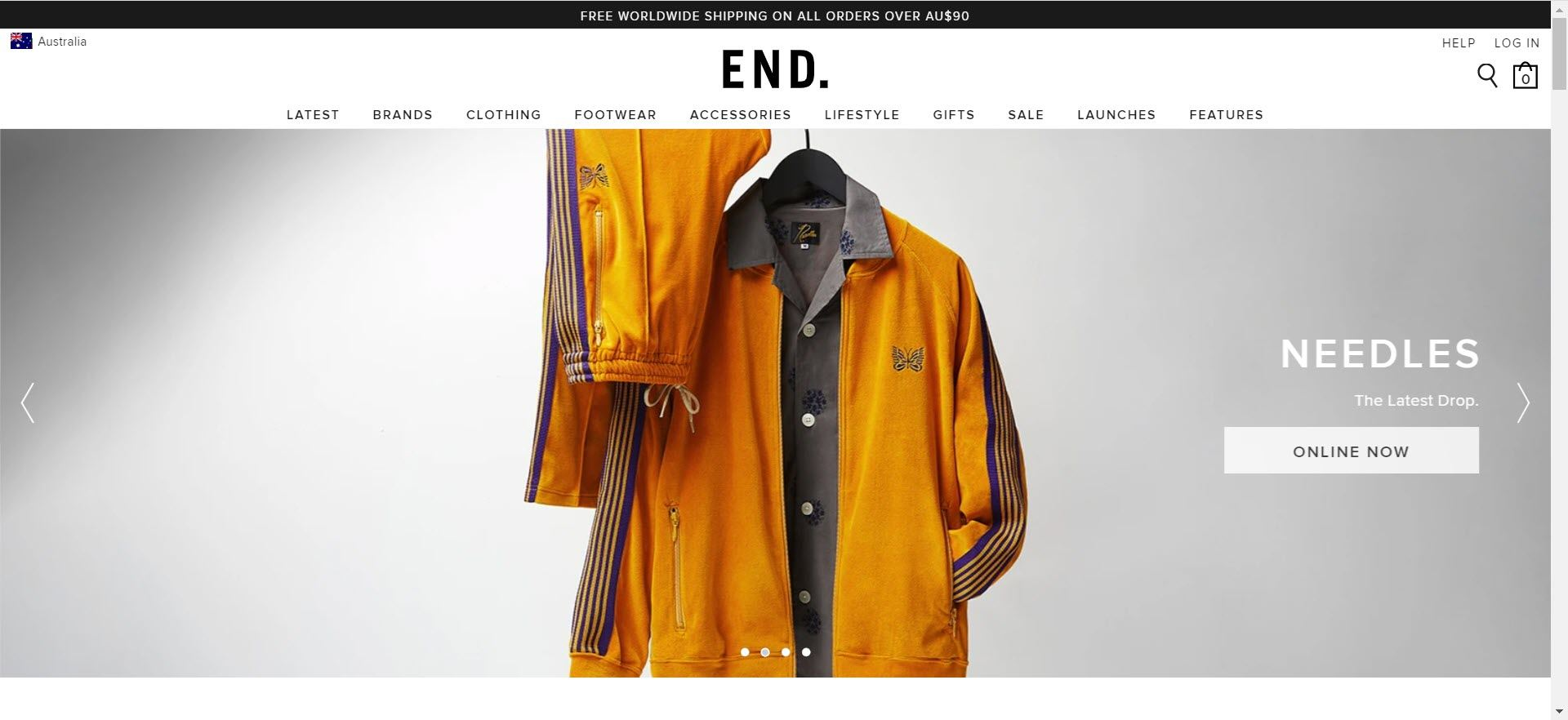 mens clothing affiliate programs - end clothing