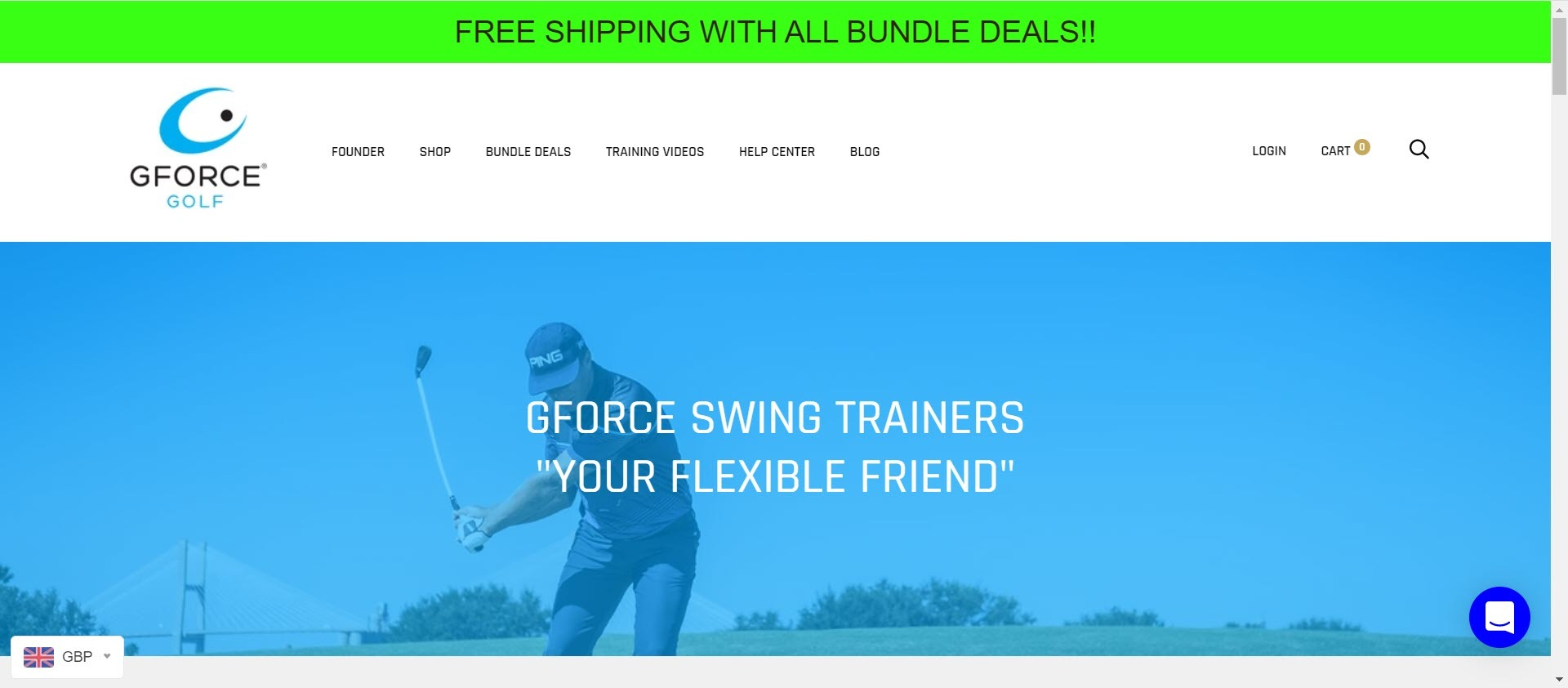 Best Golf Affiliate Programs - Gforce golf