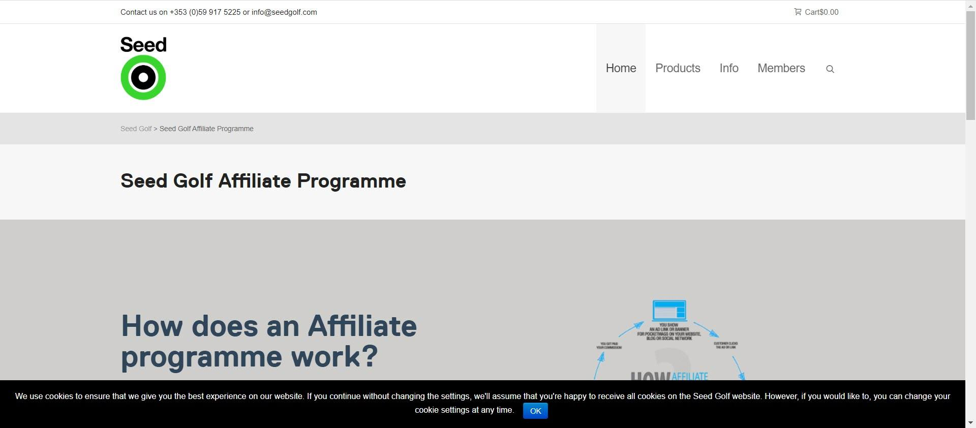 Best Golf Affiliate Programs - Seed affiliate