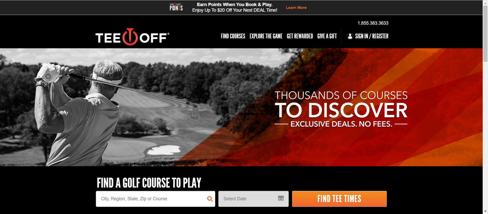Best Golf Affiliate Programs - tee off