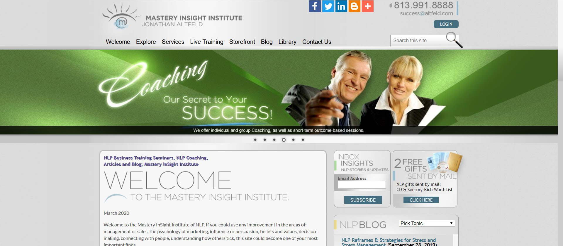 Best Personal Development Affiliate Programs - Mastery Insight Institutes