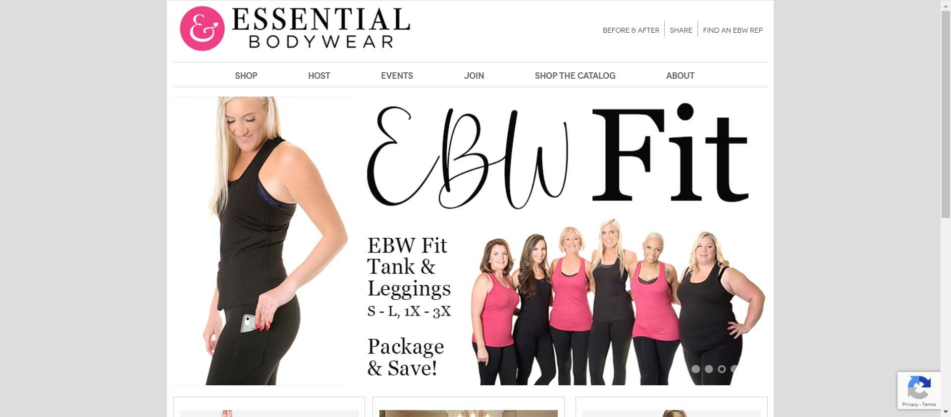Essential Bodywear - Home