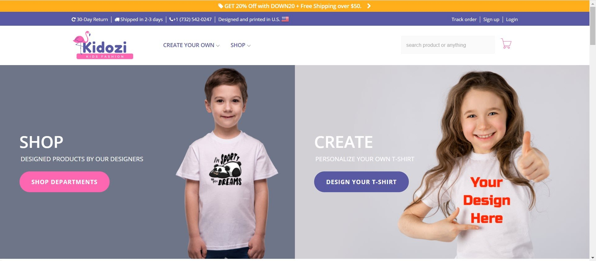 Kids Clothes Affiliate Programs - Kidozi