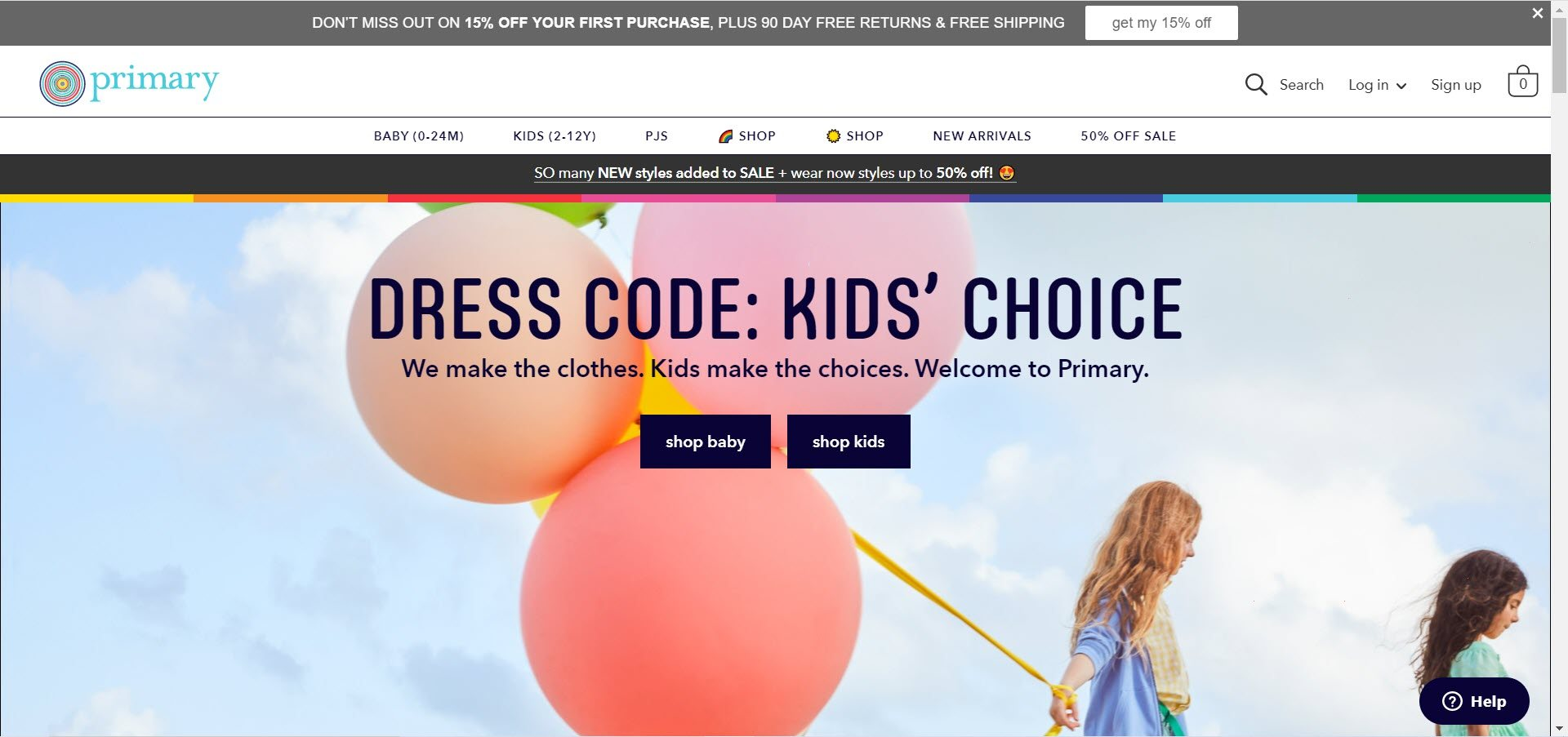 Kids Clothes Affiliate Programs - Primary