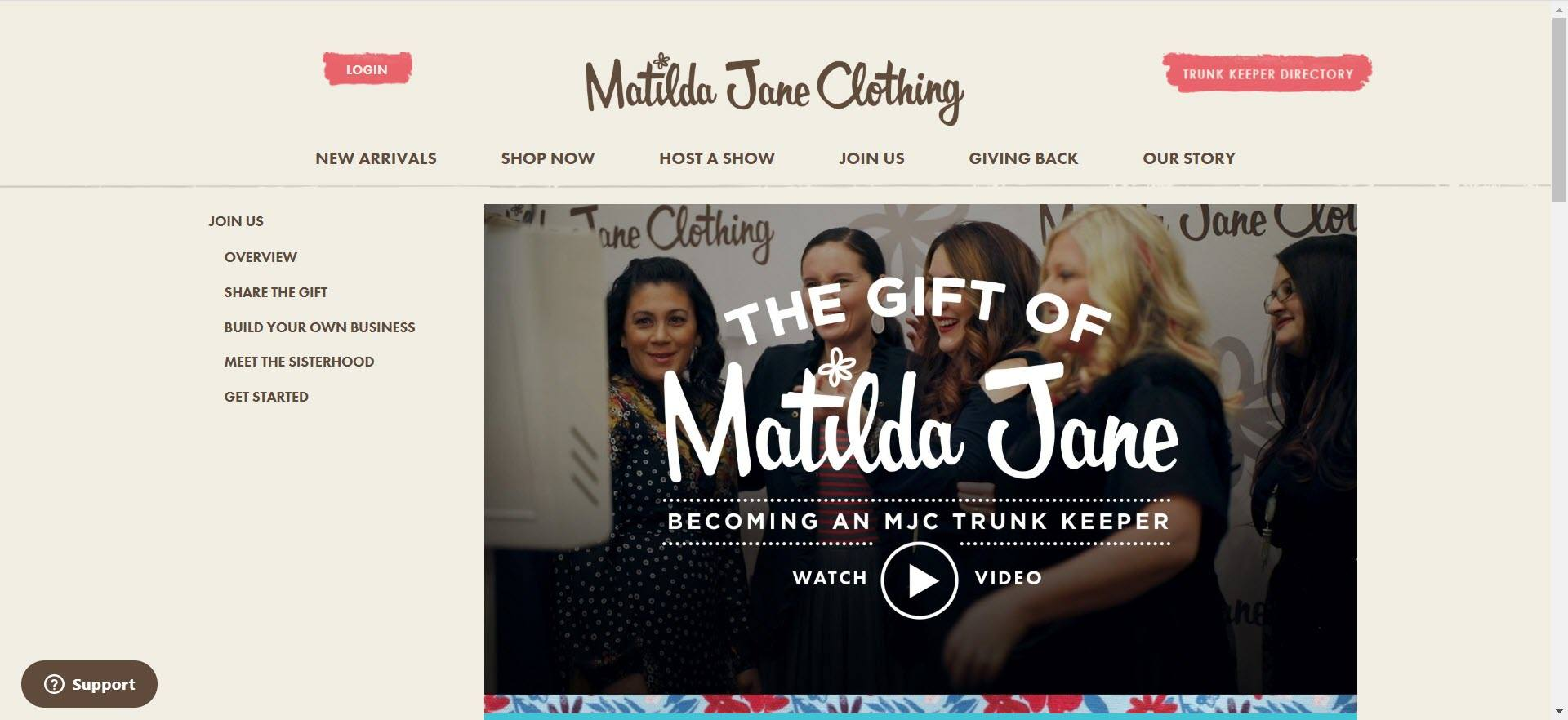 Matilda Jane Clothing MLM Review - Opportunity