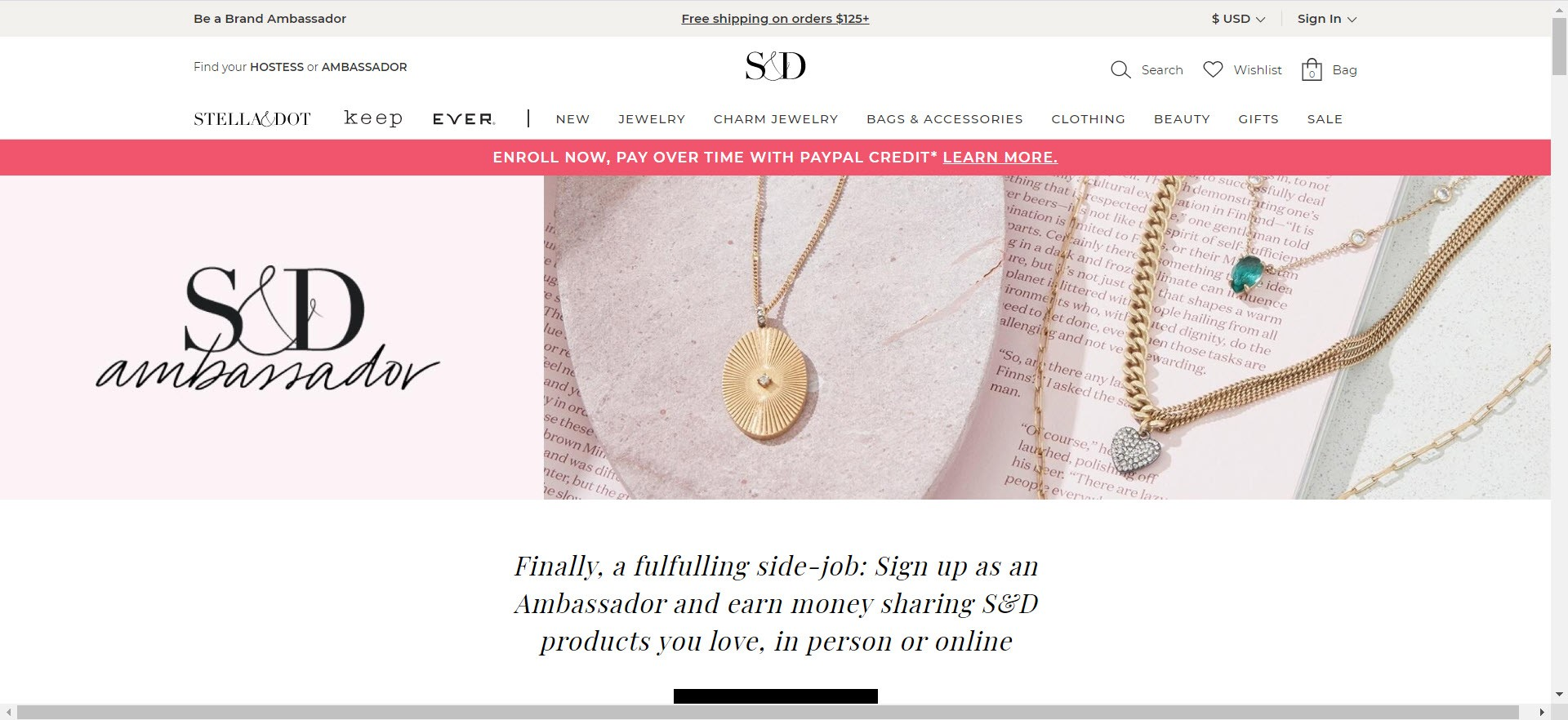 Stella Dot MLM Review - Opportunity