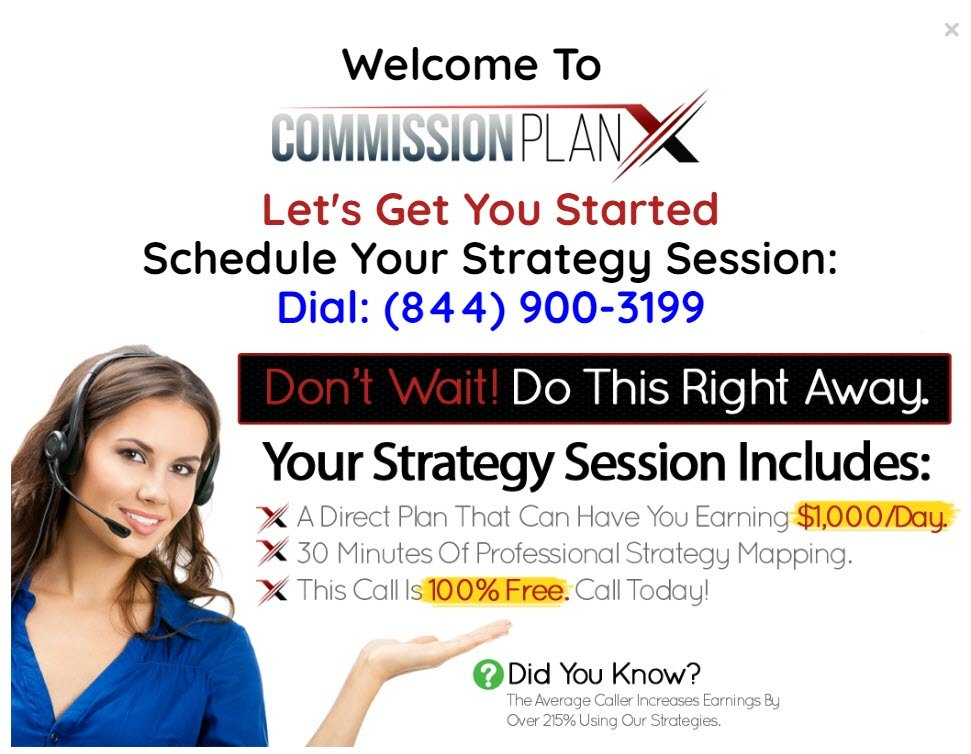 commission x review - Strategy session