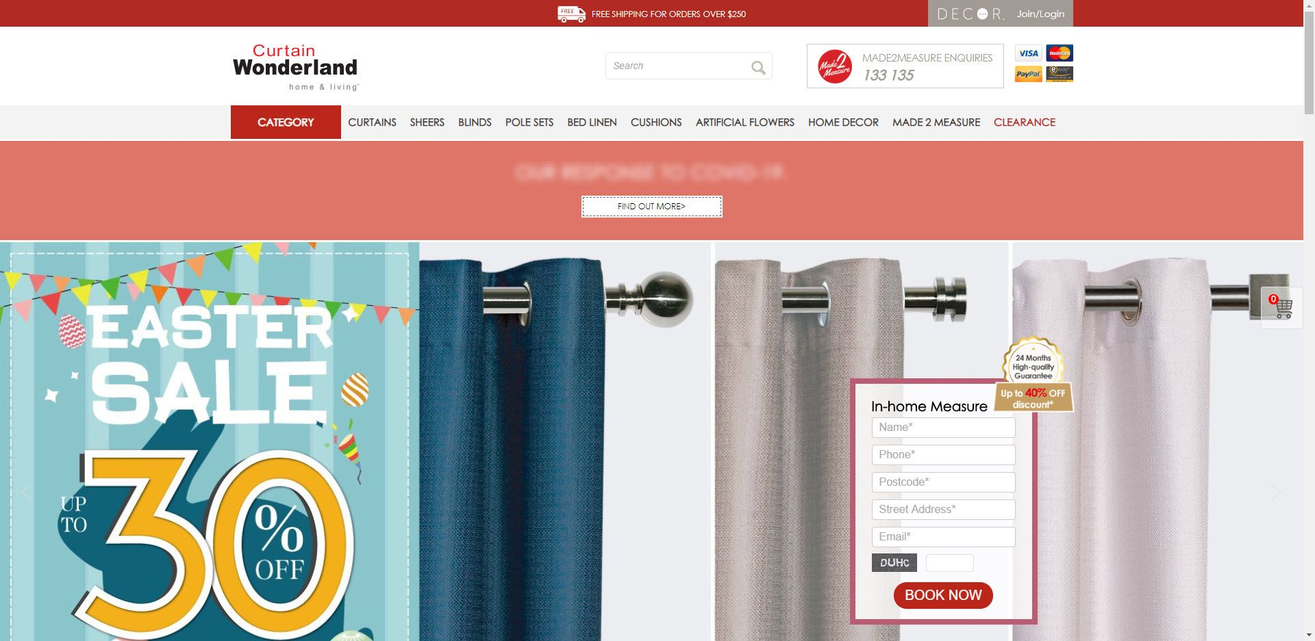 Home Decor Affiliate programs - Curtain Wonderland Home