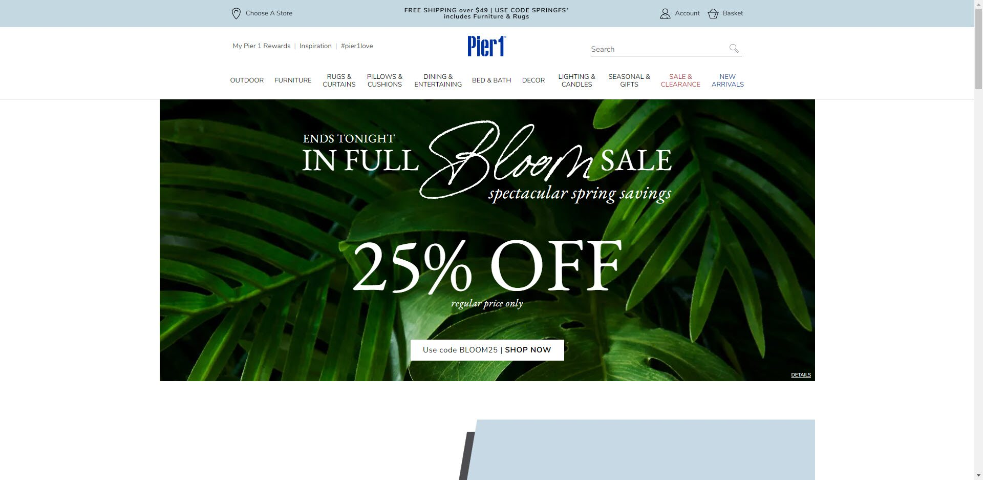 Home Decor Affiliate programs - Pier 1 Home