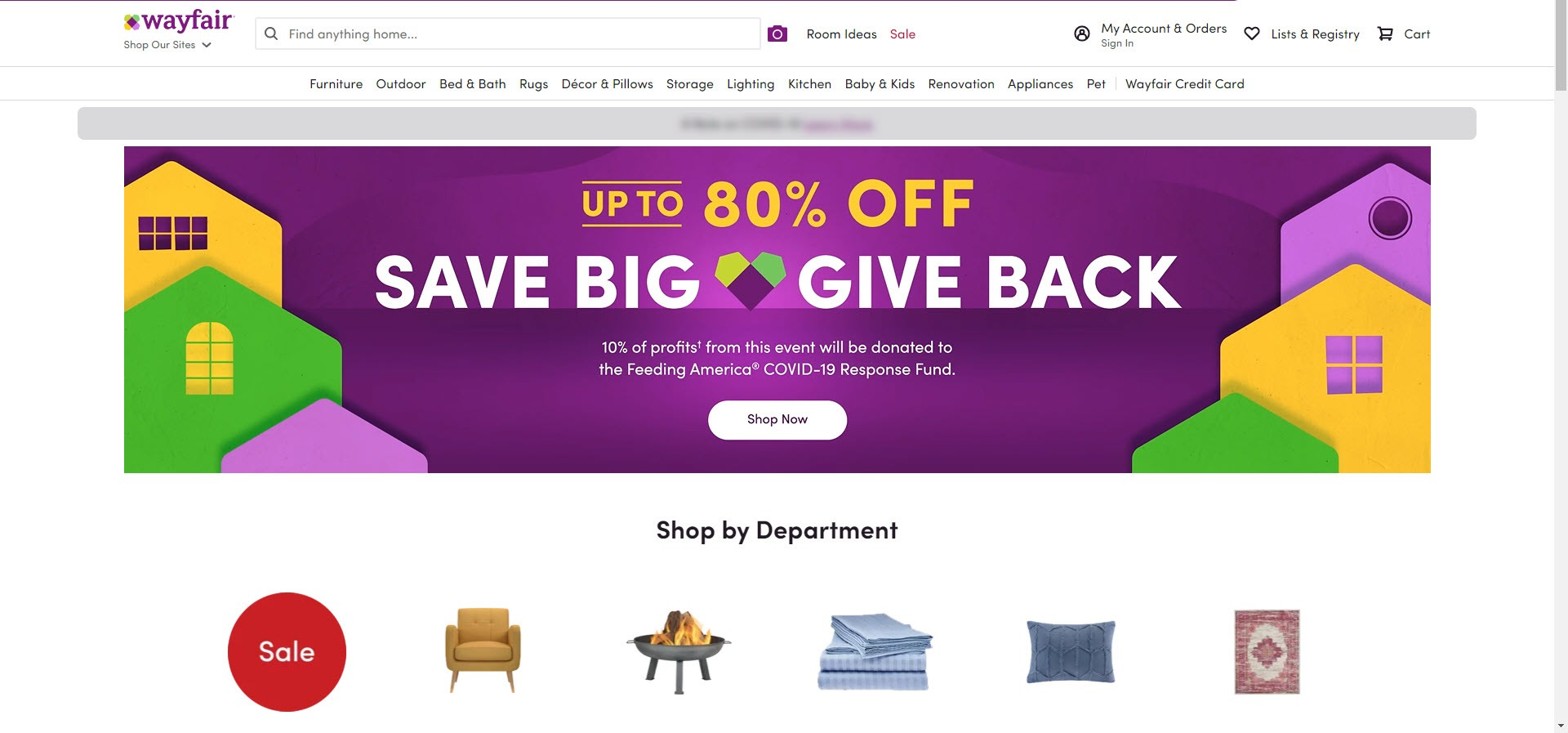 Home Decor Affiliate programs - WayFair Home